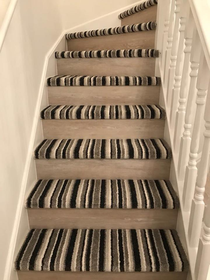 Staircase With Laminate Risers The Fmf Signature Staircase